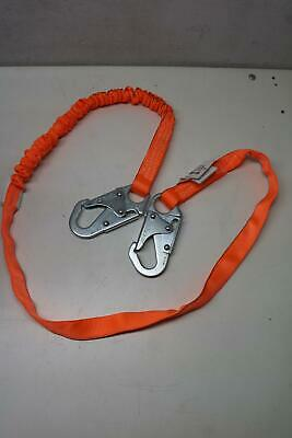 Miller Honeywell Titan T-Bak 6' 310LBS Safety Lanyard Fall Protection Absorber