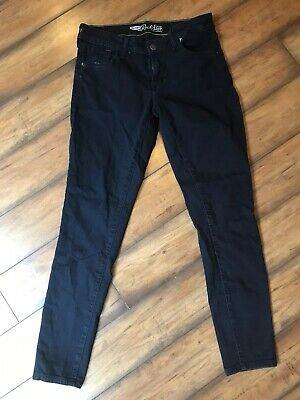 a13bad250a2a8 Old Navy Womens Size 10 Rock Star Mid Rise Dark Wash Skinny Ankle Stretch  Jeans