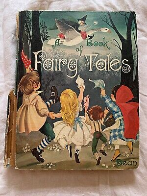 Dean's A Book of Fairy Tales vintage 1977 hardcover edition
