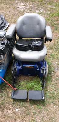 Mobility Jazzy 1103 Mini Power Chair - Used Wheelchairs (Blue)