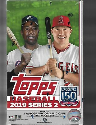 2019 Topps Series 2 Baseball Factory Sealed Hobby Box + 1 Silver Pack