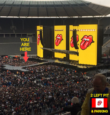 2 LEFT PIT TIX & PARKING - ROLLING STONES ROCK CANADA @ BURL'S CREEK - JUNE 29th
