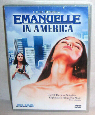 New Rare Oop Blue Underground Laura Gemser Emanuelle In America Movie Dvd 1976