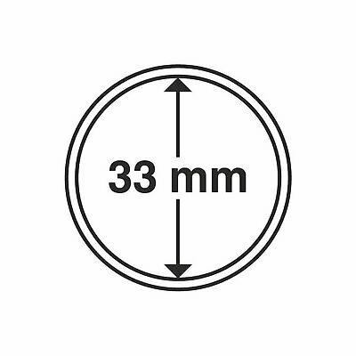 Lighthouse Coin Capsule - Round 33mm - 1 Only