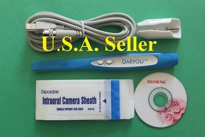 DARYOU DY-50 Intraoral Dental Camera,Button Work W/ Most Software.Super Clear