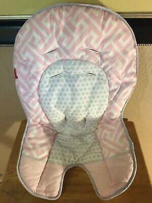 NEW ~Fisher Price HIGH CHAIR or SPACE SAVER Replacement Pad Cover Cushion