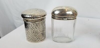 19th Century English Sterling Silver Vanity Items RS