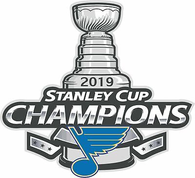 St. Louis Blues 2019 NHL Stanley Cup Champions Decal / Sticker