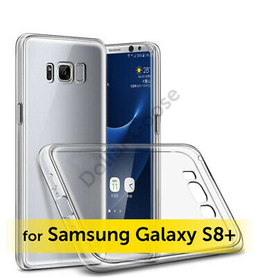 For Samsung Galaxy S8 Plus - Clear Case Soft TPU Back Cover For S8+ Shockproof