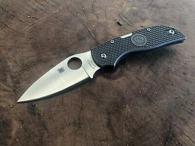 Spyderco Chaparral FRN Pocket Knife Used with Box