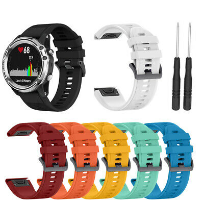 For Garmin Fenix Silicone Fitness Replacement Wrist Band Strap 3/3HR/5X/5XPlus##