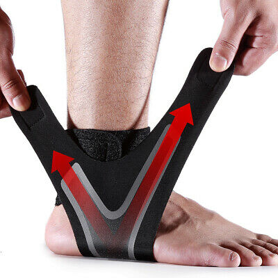 Ankle Support Foot Wrap Compression Strap Sports GYM Brace Sprain Protector