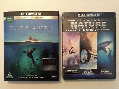 Blue Planet II + Extreme Nature Collection [4K UHD + Blu-ray] *NEW*