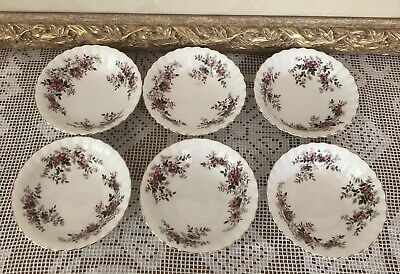 Royal Albert Lavender Rose Fruit/Nibble Bowls X 6