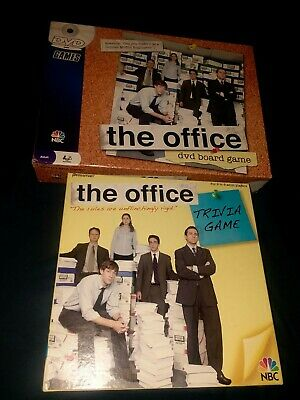 The Office DVD Board Game And The Office Trivia Game