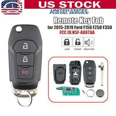Replacement For 2015-2019 Ford F-150 F-250 F-350 Keyless Remote Flip Key Fob