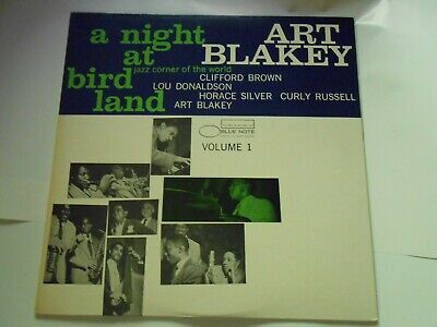 ART BLAKEY A NIGHT AT BIRDLAND VOL.1 JAPAN  BLUE NOTE LP Lou Donaldson