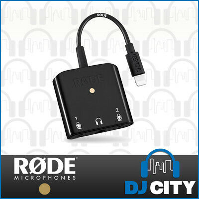 Rode SC6-L Interview Podcast iOS Recording Interface for iPad / iPhone