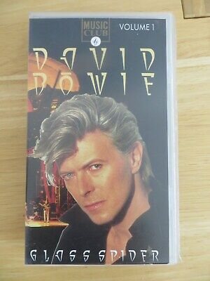 DAVID BOWIE - Glass Spider I LIVE - VHS Kassette