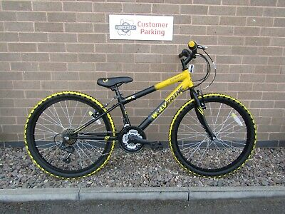 bac9b0b1e68 CONCEPT WOLVERINE BOYS MOUNTAIN BIKE 12 INCH FRAME 24 INCH WHEEL ref 10095