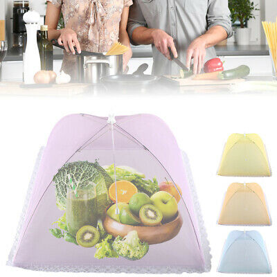 Pliant Food Cover Pop Up Net Fly Guêpe Mesh Party Cuisine Food Cover BBQ
