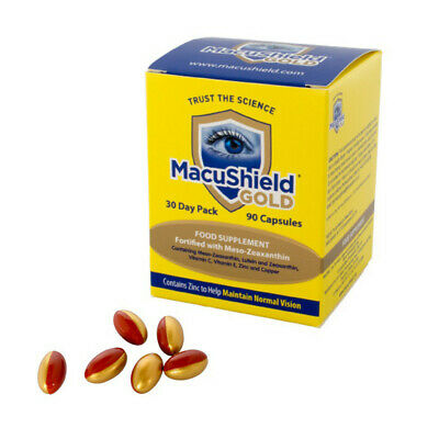 Macu Shield Gold Food Supplement - Pack of 90 Capsules x 1