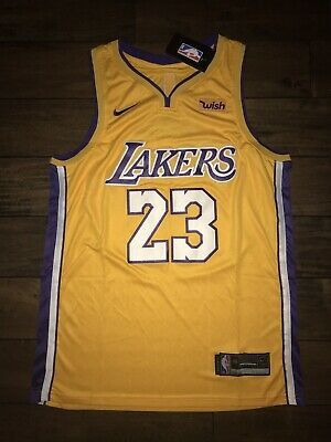 official photos fd1c4 5038f NEW LEBRON JAMES Lakers Jersey 23 Size Xl Free Shipping ...
