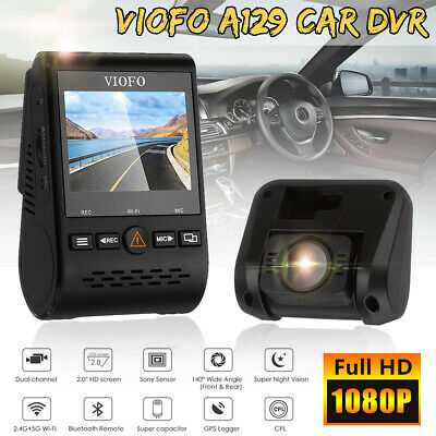 Viofo A129 Duo 1080P Car Dash Dual Camera DVR Video W/ GPS Wi-Fi Dual Channel AU