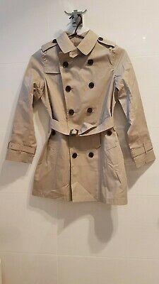 NWT Childrens classic Burberry trench coat about 10 yrs