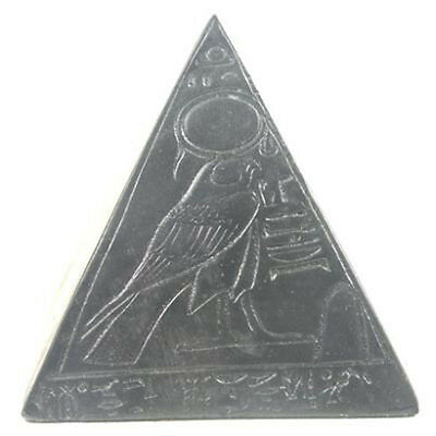 Black Ancient Egyptian pyramid ornament 5 cm