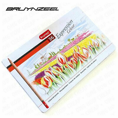 Bruynzeel - Expression Colour - Tin of 36 Artist Watercolour Pencils