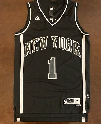 bff8a65e436 Rare Adidas NBA New York Knicks Amar'e Stoudemire Blackout Basketball Jersey