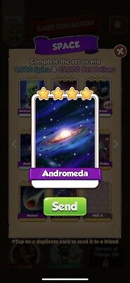 Coin Master Card Andromeda Fast Delivery.         UK 🇬🇧 Seller