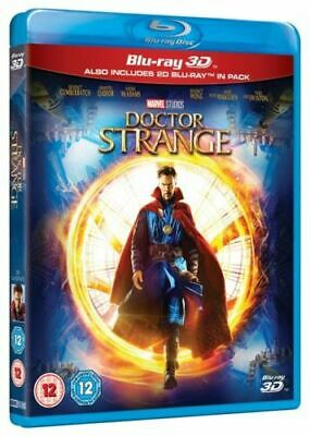 Doctor Strange 3D Blu-Ray One Disc Movie With Case Only