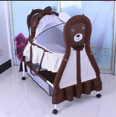 Brand New Innovative 3IN1 Cool Baby Bassinet-Brown