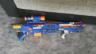 HASBRO NERF LONGSHOT ELITE 2in1 CS-6 30 METER.