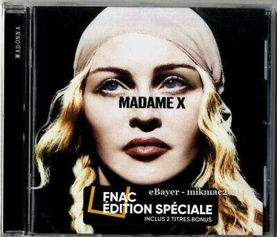 MADONNA - MADAME X Special Edition France Cd Album with BONUS TRACKS Fnac Sealed