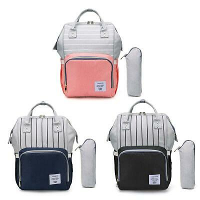 Waterproof Mummy Diaper Changing Bags Large Capacity USB Maternity Baby Backpack