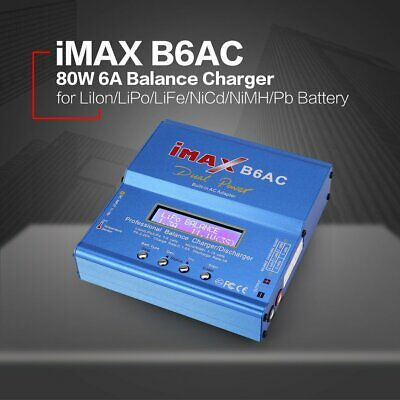 iMAX B6AC 80W AC/DC Lipo NiMh Battery Balance Charger Discharger for RC Model X