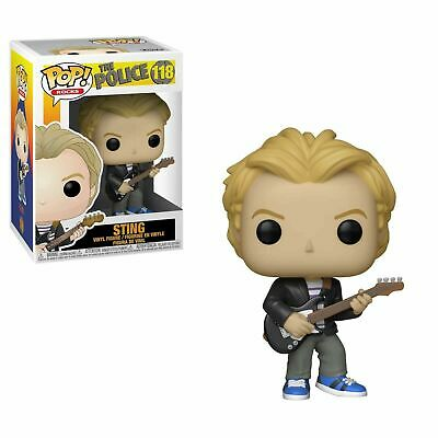 "The Police Sting 3.75"" Pop Rocks Vinyl Figure Funko 118 In Stock"