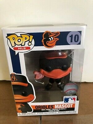 POP MLB: The Oriole Bird Mascot (Baltimore Orioles)  FUNKO MLB POP Vinyl NIB