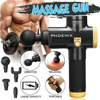 Muskel Massagegerät Muscle Massager Gun Tiefengewebe Muskelmassager 3 Speed DE