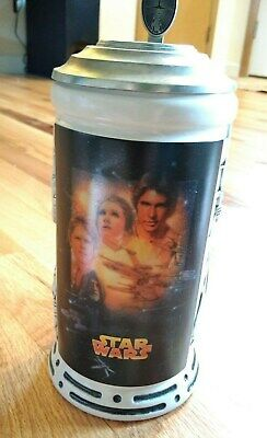 Star Wars Special Edition Stein Mug with papers officially licensed NEW  1997