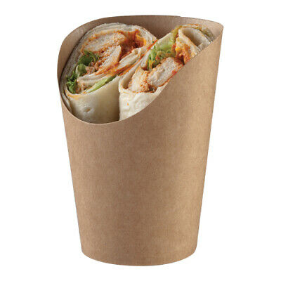 Recyclable Kraft Snack Cups - Wraps/Fries - **choose quantity**