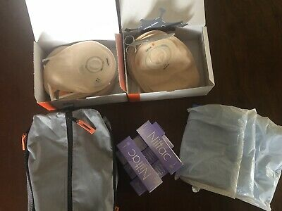 47 Dansac Novalife Colostomy Bags Mixed 5 Niltac Adhesive Remover Disposal Bags