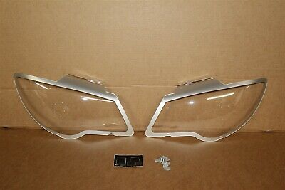 VW Touran 2007-10 Headlight Protecters / converters ZGB1T2072 101 New Genuine VW