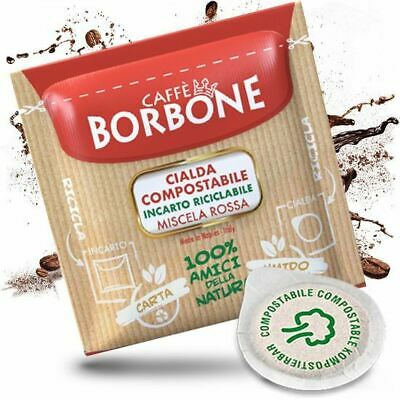 400 Cialde Filtro Carta 44Mm Caffe' Borbone Miscela Rossa Originali Break Shop