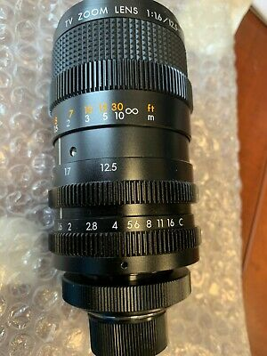 Kowa LMZ78NA 6x manual zoom lens - NEW open box