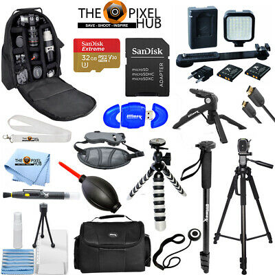 Mega Accessory Bundle Kit for Sony HDR-CX675 HDR-CX455 HDR-CX440 Camcorder