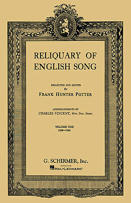Reliquary of English Songs - Volume 1-Vocal and Piano-Mixed Songbook